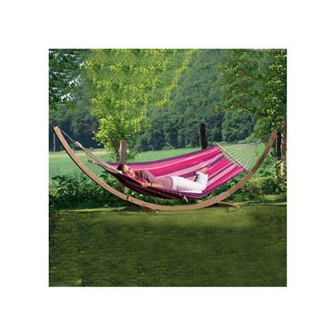 Support Bois Hamac by Support Hamac Bois Amazonas 100x200 Cm