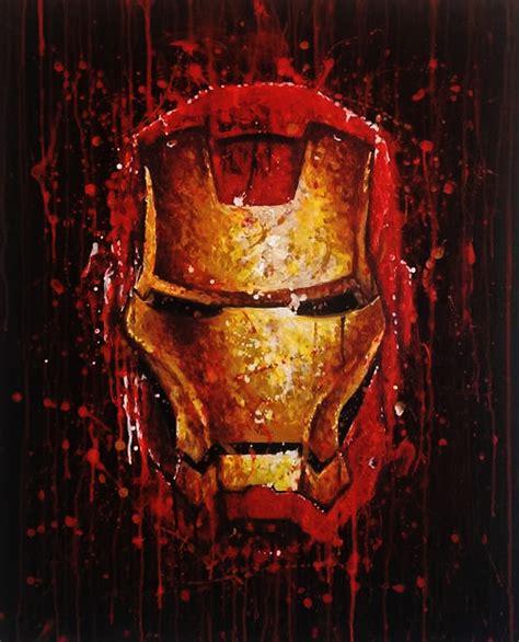 ironman painting iron splat painting by jonarton on deviantart