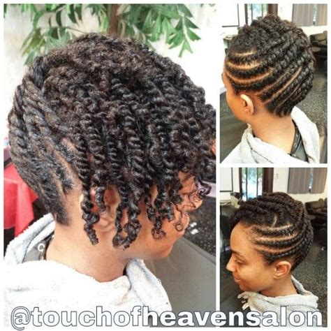 natural hair updo  strand twists wwwtouchofheavensaloncom natural hair twists flat