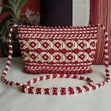 tutorial tas tali kur motif cacing hasil gambar untuk cara membuat tas tali kur motif ombak