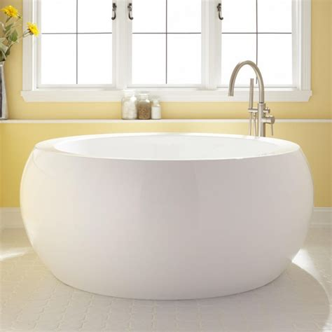 best bathtubs for soaking 61 quot arturi round acrylic soaking tub japanese soaking