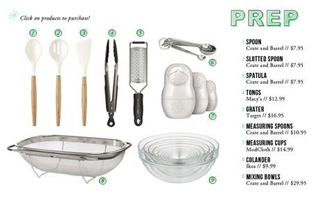 list of kitchen essentials kitchen essentials for the everygirl the everygirl