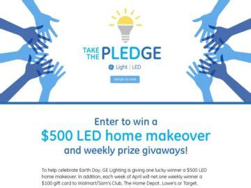 Ge Sweepstakes - ge lighting led makeover sweepstakes