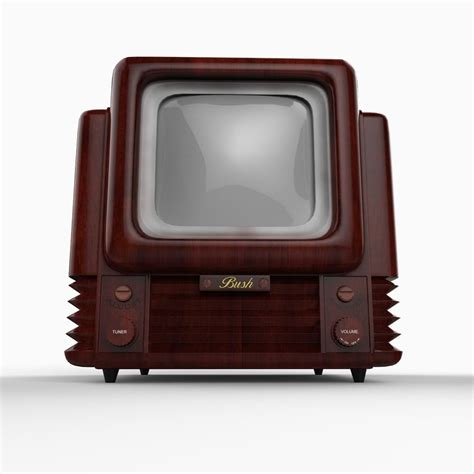 Tv Mobil 12 Inch bush tv 12 9 inch tv 3d model max obj 3ds c4d lwo lw lws ma mb cgtrader