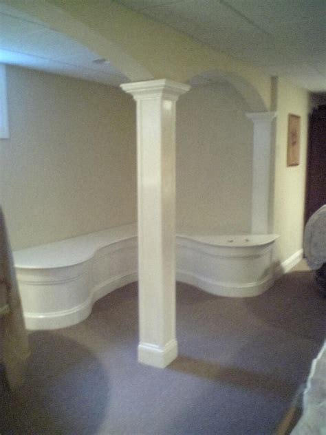 basement support posts finishing basement support columns pics would be great finish carpentry contractor talk