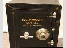 Bargain John's Antiques | Antique Iron Safe - Schwab Safe ... Grandfathers