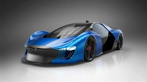 tesla roadster concept designer s vision of an electric supercar the tesla model