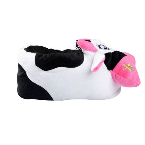 womens novelty slippers womens animal novelty slippers mad cow padded cushioned