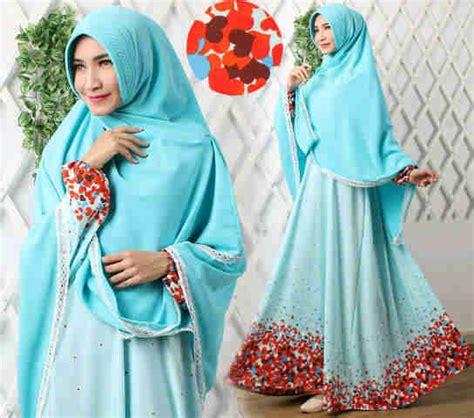 Baju Muslim Gamis Syari Modern Yara Tosca baju gamis syar i modern b039 versace busana muslim cantik