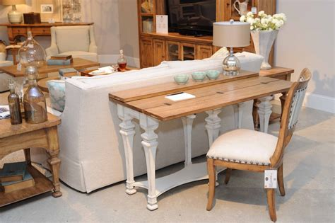 sofa table desk decorating tips that don t cost a cent hooker furniture