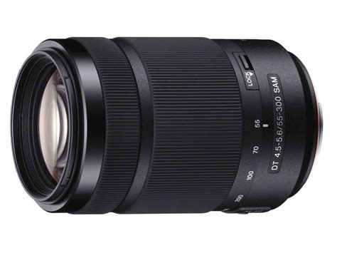 Sony Sal 55 300mm F4 5 5 6 Dt sony releases dt 55 300mm f4 5 5 6 sal telephoto zoom for