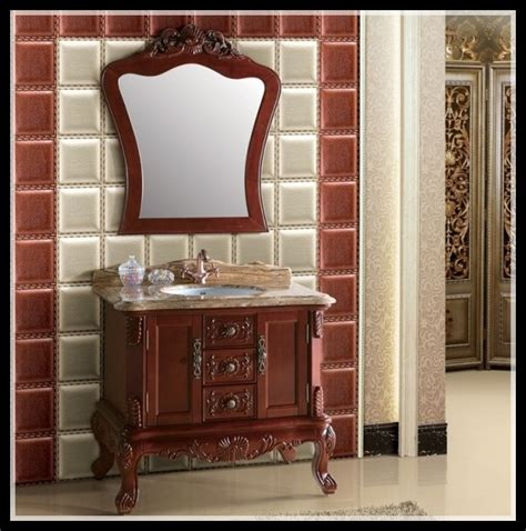 Solid Wood Bathroom Vanities Sale by 2014 New Design Factory Direct Sale Solid Wood Wholesale
