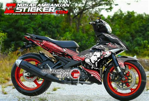 Decal Striping Sticker Jupiter Mx New 013 Glossy decal jupiter mx king kabuki merah nusakambangan sticker nusakambangan sticker