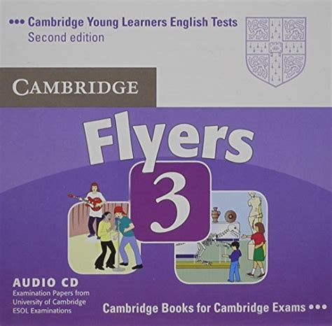 cambridge young learners english tests movers 1 audio cd level 1 examination papers from the libro cambridge young learners english tests flyers 1 audio cd examination papers from the