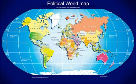 political world map  size world maps pinterest