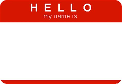 printable name tags hello my name is print or write