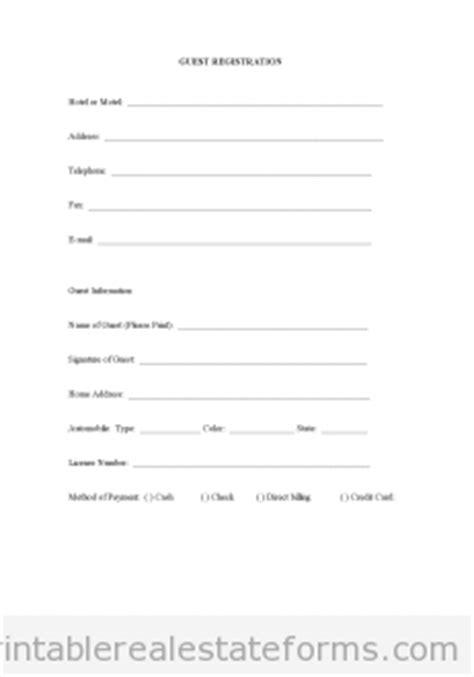 estate rent rental agreement generic printable real estate