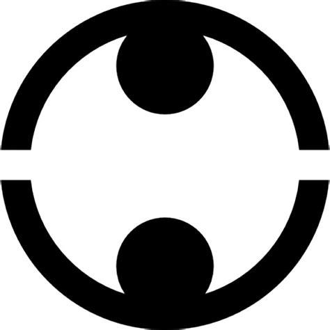 imagenes con simbolos face l 237 neas circulares s 237 mbolo con dos peque 241 os c 237 rculos para