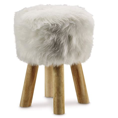 Pottery Barn Faux Fur Stool by Faux Fur Stool Faux Fur Stool Pottery Barn Faux Fur