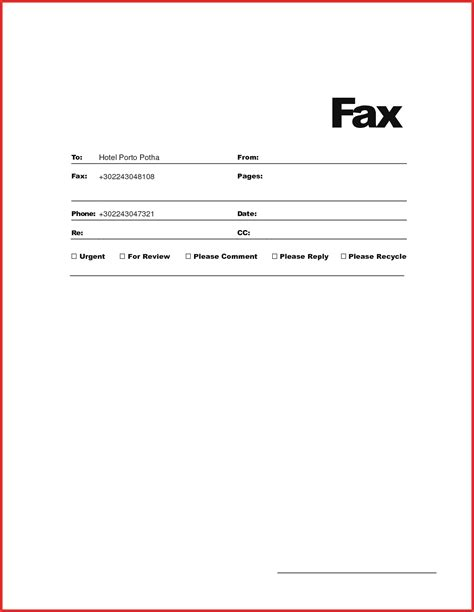 email cover sheet template unique free fax cover sheet resume pdf