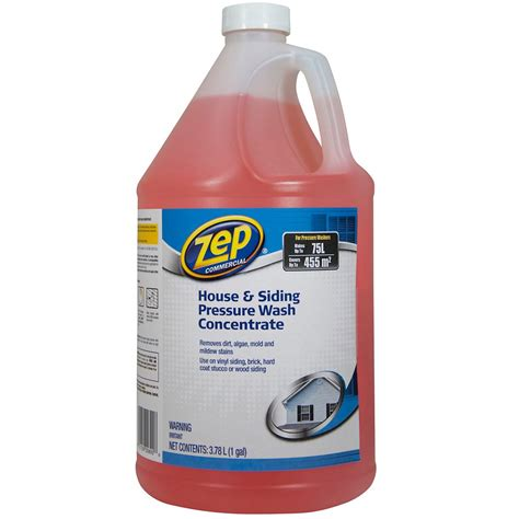 zep commercial zep house siding cleaner pressure wash 3