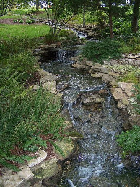 backyard streams backyard stream landscaping pinterest