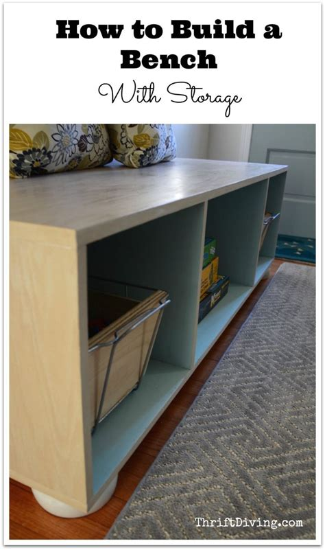 build your own storage bench how to build a bench with storage home build your own