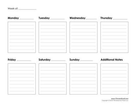best free print to pdf best 25 weekly calendar template ideas on