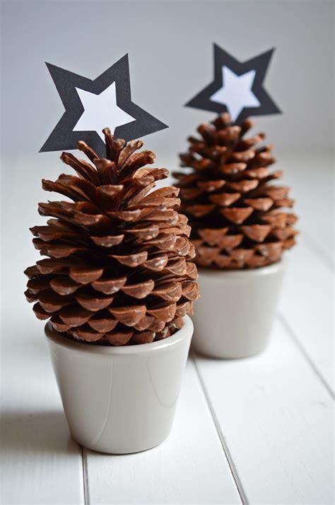 Leichte Bastelideen Für Weihnachten 5965 tannenzapfen f 195 188 r weihnachtsdeko pinteres