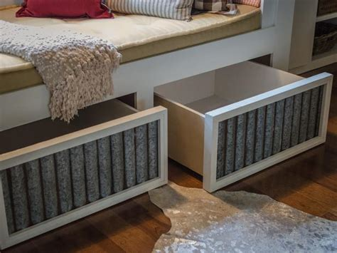 Window Seat With Drawers by Media Room Pictures From Cabin 2012 Diy Network