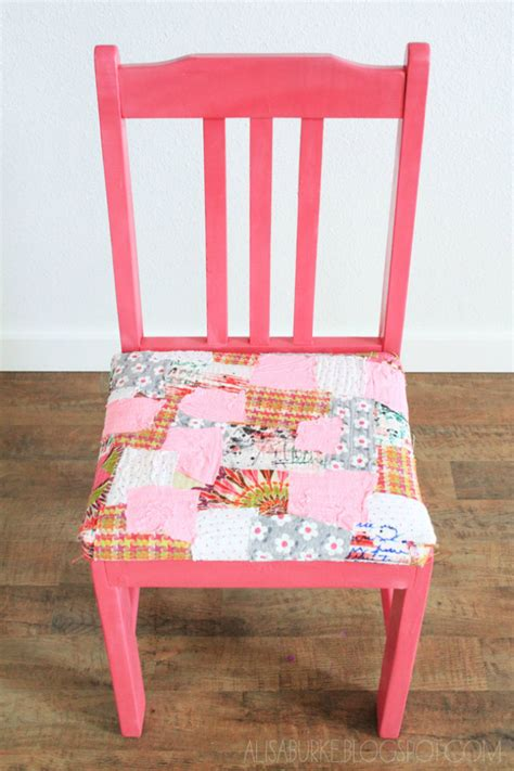 Patchwork Covered Chairs - patchwork chair cover wonderfuldiy