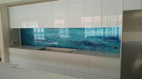 Backsplash Ideas For Kitchens Inexpensive Custom Kitchen Splashbacks Voodoo Glass Gold Coast