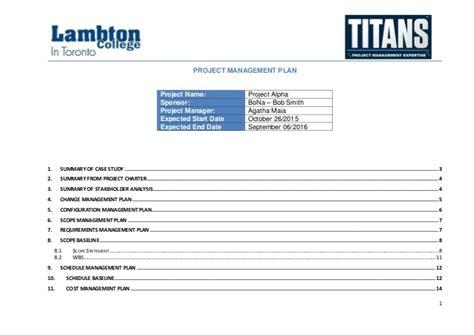 task order management plan template alpha study project management plan sle