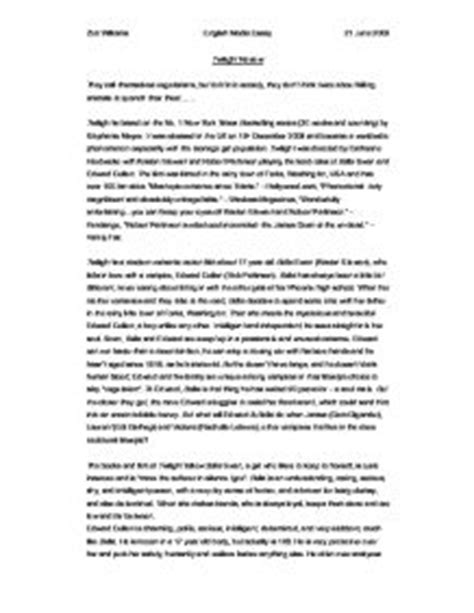 twilight book report essays twilight essay