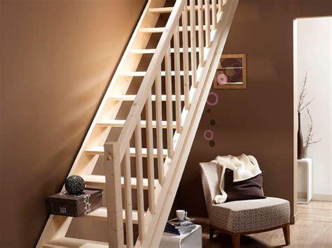 escalier droit leroy merlin 1146 escalier droit en bois naturel pin de chez leroy merlin