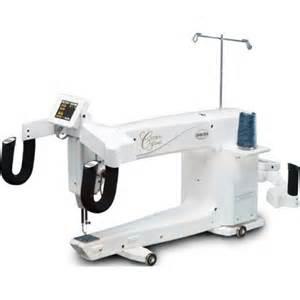 baby lock crown arm quilting machine