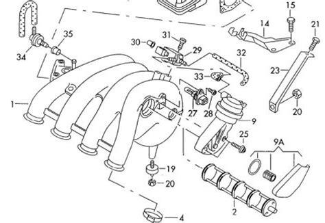 Audi Teilekatalog Online by Audi A4 B5 Ansaugdrehschieber Biete Audi