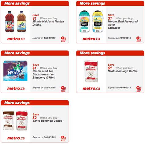 printable grocery coupons quebec metro quebec printable store coupons april 2 to 8