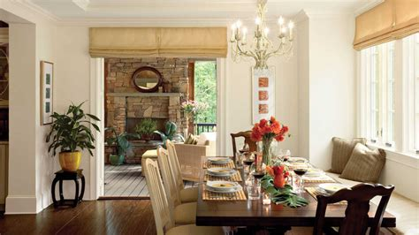 southern dining rooms build a banquette stylish dining room decorating ideas