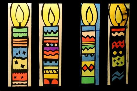 Fensterdeko Weihnachten Seidenpapier by Kerzen Adventsfenster Adventsfenster
