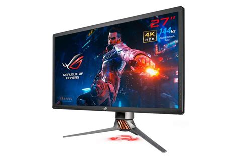 asus 4k hdr 144hz g sync monitor is shipping next month for 2 000 the verge