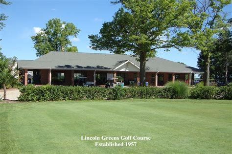 lincoln golf lincoln greens golf course springfield illinois golf