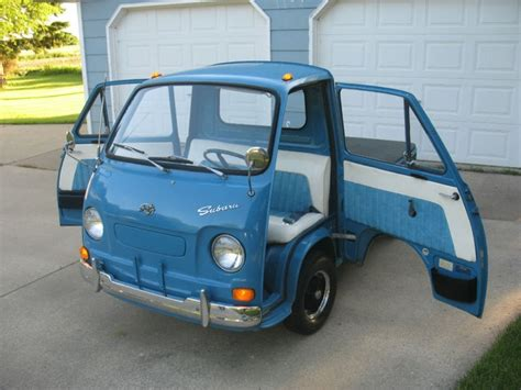 subaru 360 truck 17 best images about mini trucks and vans i d roll on