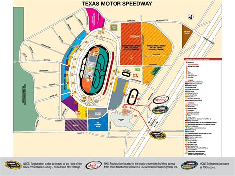 texas motor speedway parking map nscs nxs weekend schedule track map texas motor speedway infieldjen