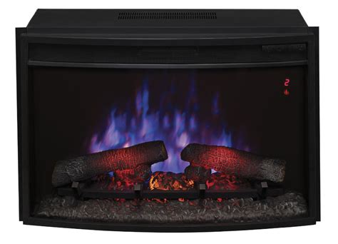 25 quot classicflame spectrafire curved glass electric