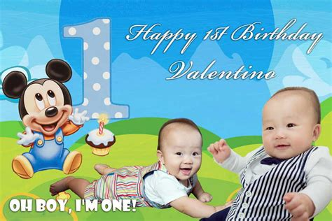 happy birthday mickey mouse design mickey mouse birthday banner 13