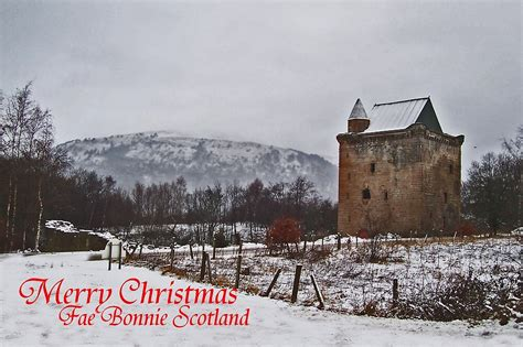 merry christmas fae bonnie scotland  alan findlater redbubble