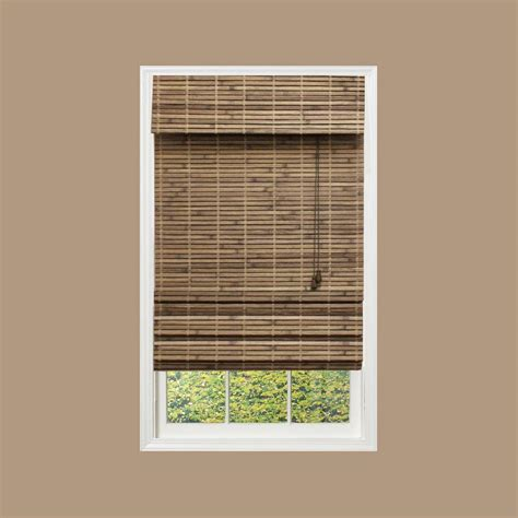 home decorative collection home decorators collection 30 quot x48 quot woven bamboo roman