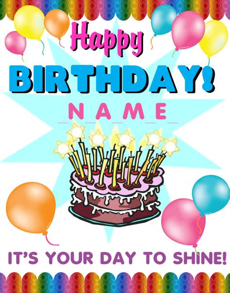 free templates for birthday posters birthday poster templates 19 free psd eps in design