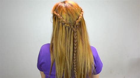 easy ways  style  long hair wikihow